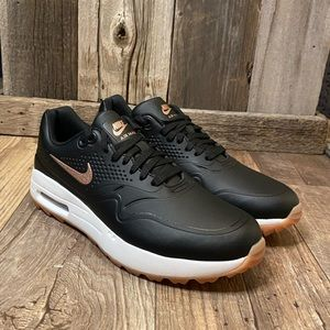 NEW NIKE Air Max 1 Spikeless Golf Shoes - Sz 7.5